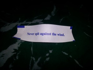 Stupid fortune cookie