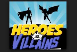 Super Hero vs Villian Fundraiser